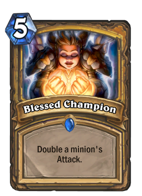 Blessed Champion Card Image