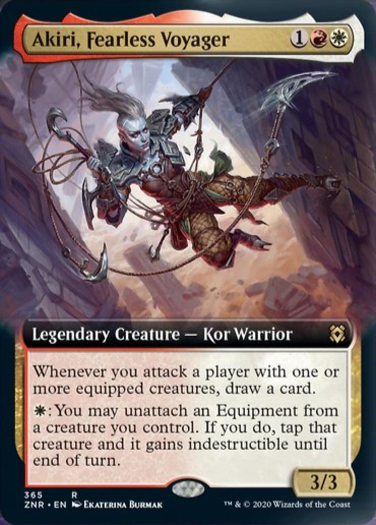 Akiri, Fearless Voyager Card Image