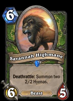 Savannah Highmane Card Image