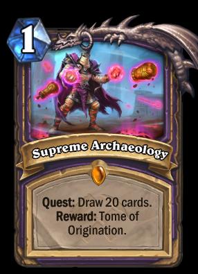 Supreme Archaeology Card Image