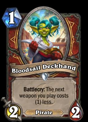 Bloodsail Deckhand Card Image