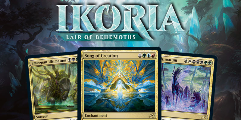 MTG Arena - Ikoria: Lair of Behemoths Card Spoilers April 8