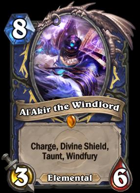Al'Akir the Windlord Card Image