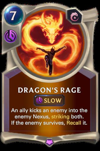 Dragon's Rage Card Image