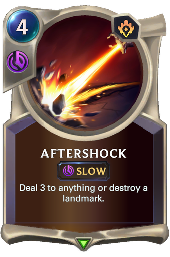 Aftershock Card Image