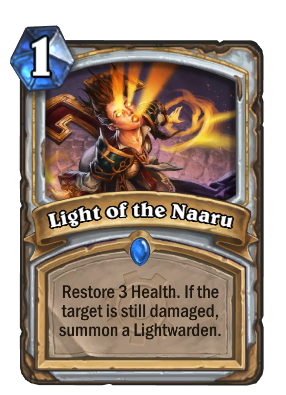 Light of the Naaru Card Image