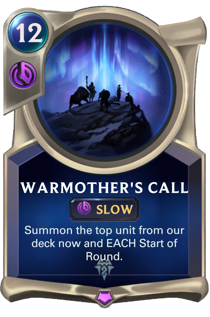 Warmother's Call Card Image
