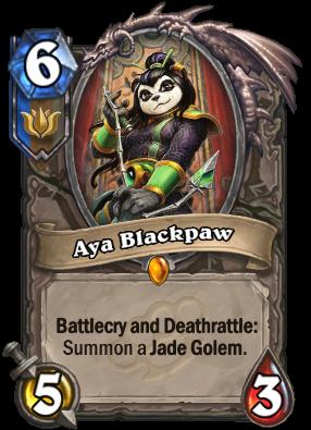 Aya Blackpaw Card Image