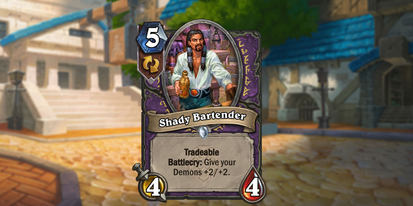 New Warlock Card Revealed for United in Stormwind by IGN - Shady Bartender