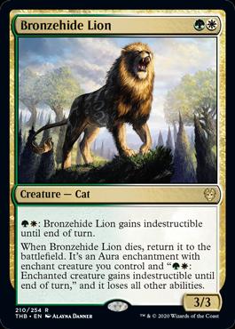 Bronzehide Lion