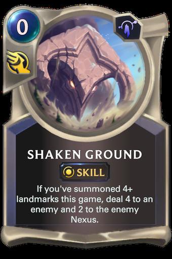 Shaken Ground Card Image