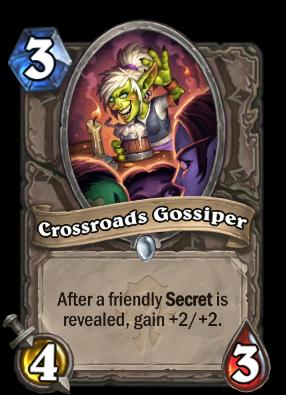 Crossroads Gossiper Card Image