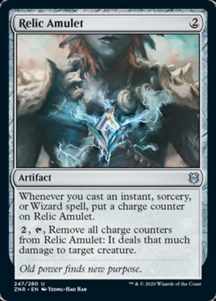 Relic Amulet Card Image