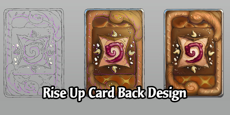 From Sketch to Fresh - How this Month's Ranked Card Back, Rise Up, Was Baked