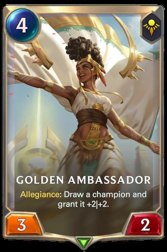 Golden Ambassador Card Image