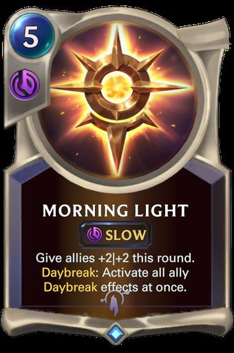 Morning Light Card Image