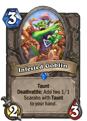 Infested Goblin Card Image