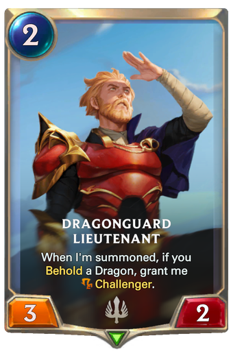 Dragonguard Lieutenant Card Image