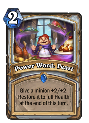 Power Word: Feast Card Image