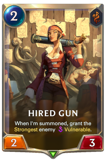 Hired Gun Card Image