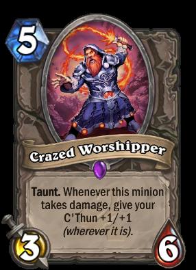 Crazed Worshipper Card Image