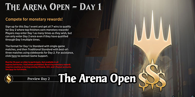 The Arena Open - Cash Tournament Starts May 30 - Get Godzilla Lands for Entering