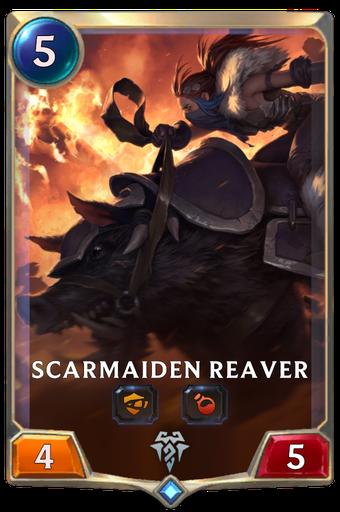 Scarmaiden Reaver Card Image