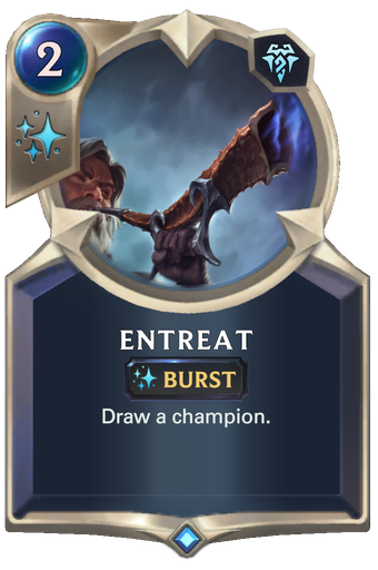 Entreat Card Image