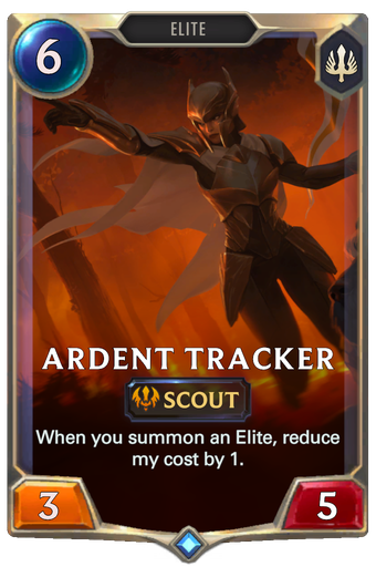Ardent Tracker Card Image