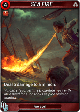 Sea Fire Card Image