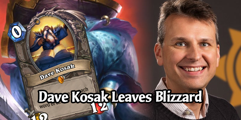Dave Kosak, Father of Patches the Pirate, Has Left Blizzard Entertainment