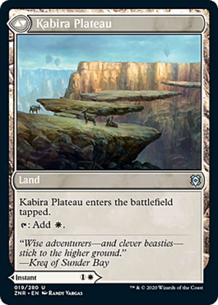 Kabira Takedown // Kabira Plateau Card Image