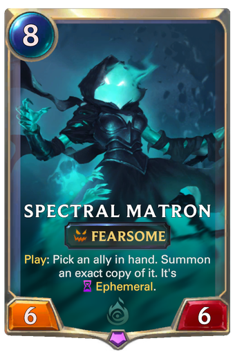 Spectral Matron Card Image