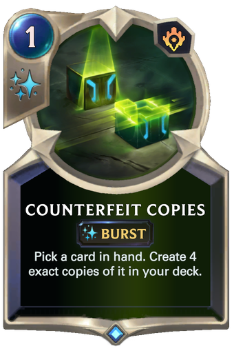 Counterfeit Copies Card Image