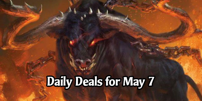 Daily Store Deals in MTG Arena for May 7, 2020 - 75% Off Ox of Agonas