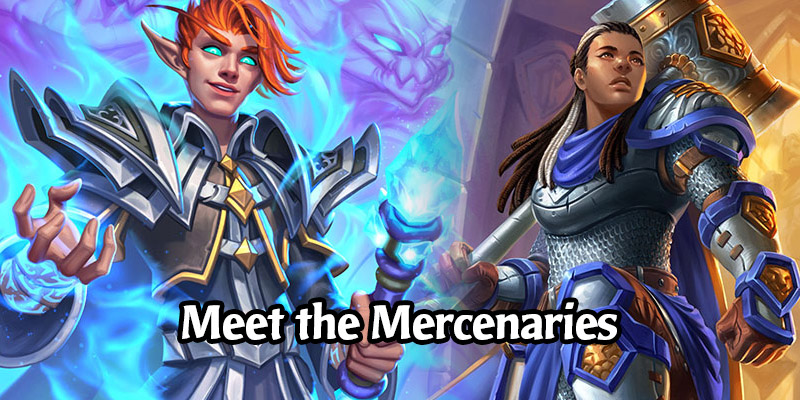 Meet Hearthstone's Mercenaries! Blizzard Releases Backstories on the 10 New Characters