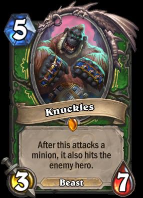 Knuckles Card Image