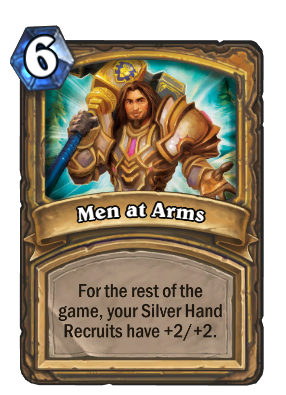 Men at Arms Card Image