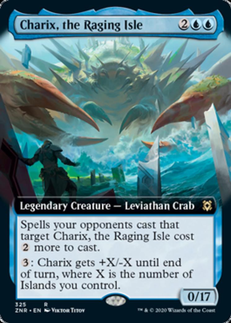 Charix, the Raging Isle Card Image