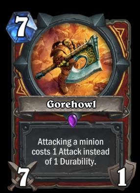 Gorehowl Card Image
