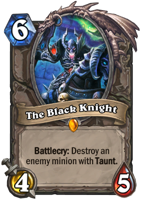 The Black Knight Card Image