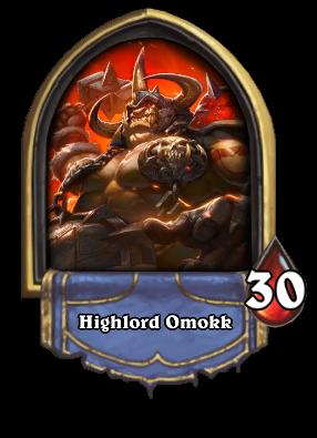 Highlord Omokk Card Image