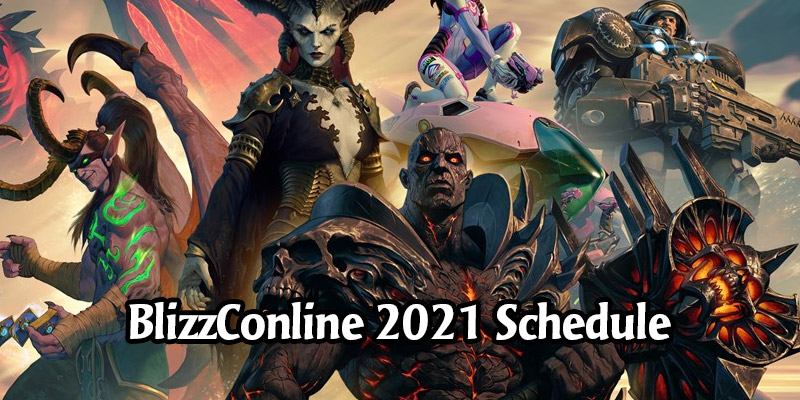 BlizzConline 2021 Schedule is Live - Hearthstone Has Two Major Events