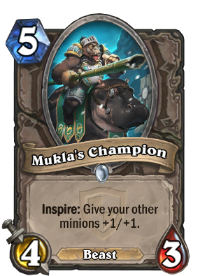 Mukla's Champion Card Image