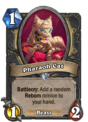 Pharaoh Cat Card Image