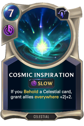 Cosmic Inspiration Card Image