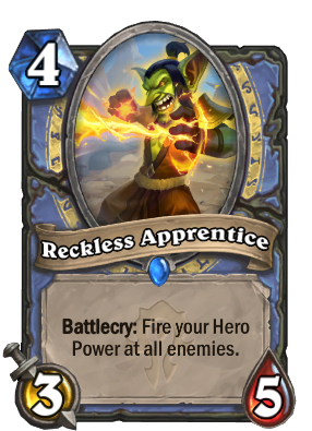 Reckless Apprentice Card Image