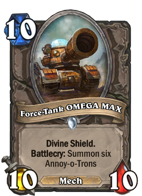 Force-Tank OMEGA MAX Card Image