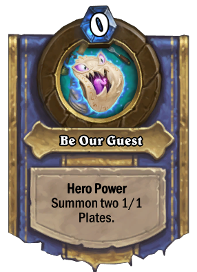 Be Our Guest Card Image