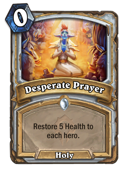 Desperate Prayer Card Image